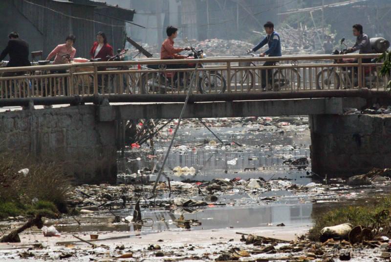 Городок Гуйу в Китае считается электронно-мусорной столицей мира.