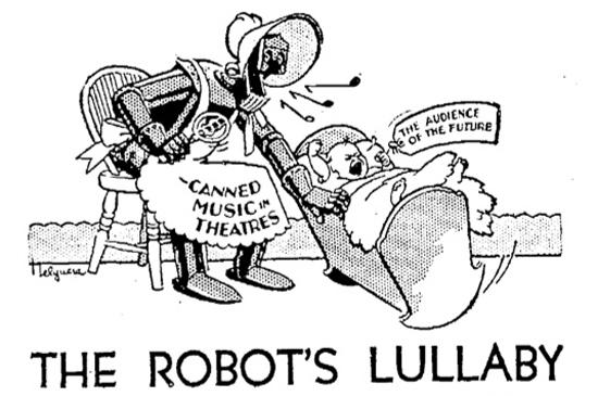 85 лет назад музыкальная индустрия дала отпор нашествию роботов