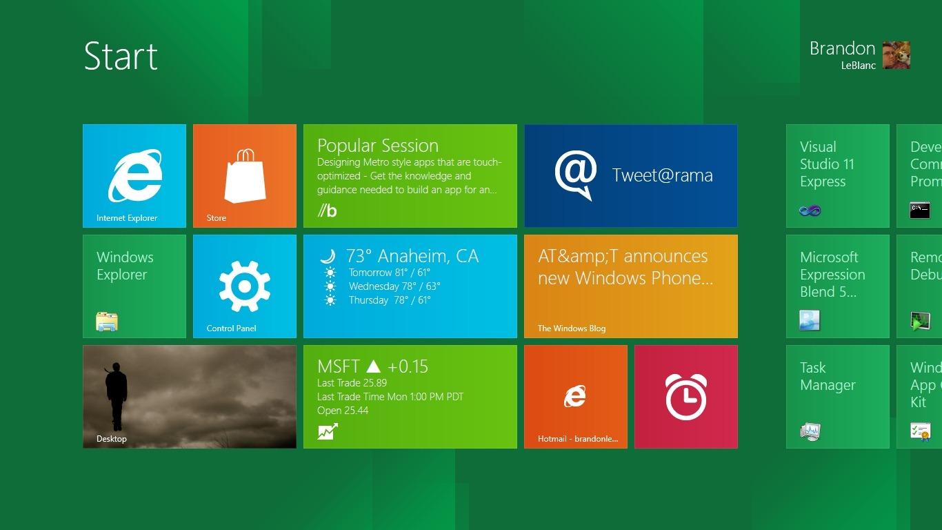 Метро для windows 8
