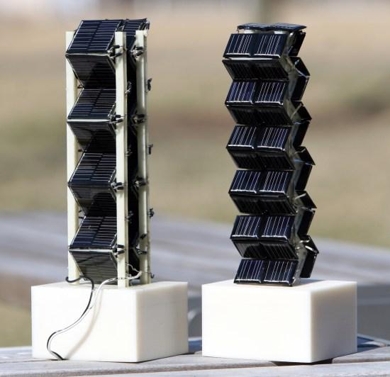 «Объёмные» солнечные батареи оказались в разы эффективнее традиционных