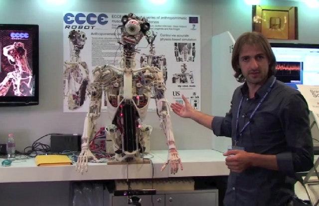 Жуткий робот с одним глазом поможет разрабатывать искусственный интеллект