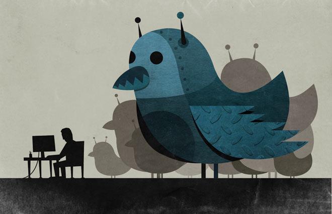 В РИА Новости выяснили, что Жириновского и Прохорова в Twitter читают одни боты