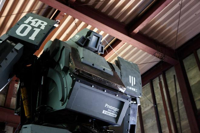 Kuratas — японский «боевой» робот на дизельном ходу за 1,35 млн. долларов