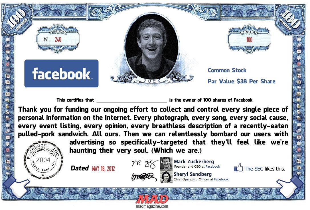 Мёртвые души Фейсбука