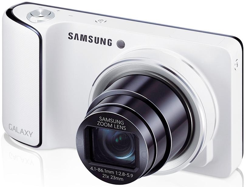 Samsung Galaxy Camera — фотоаппарат с Android и мобильной связью