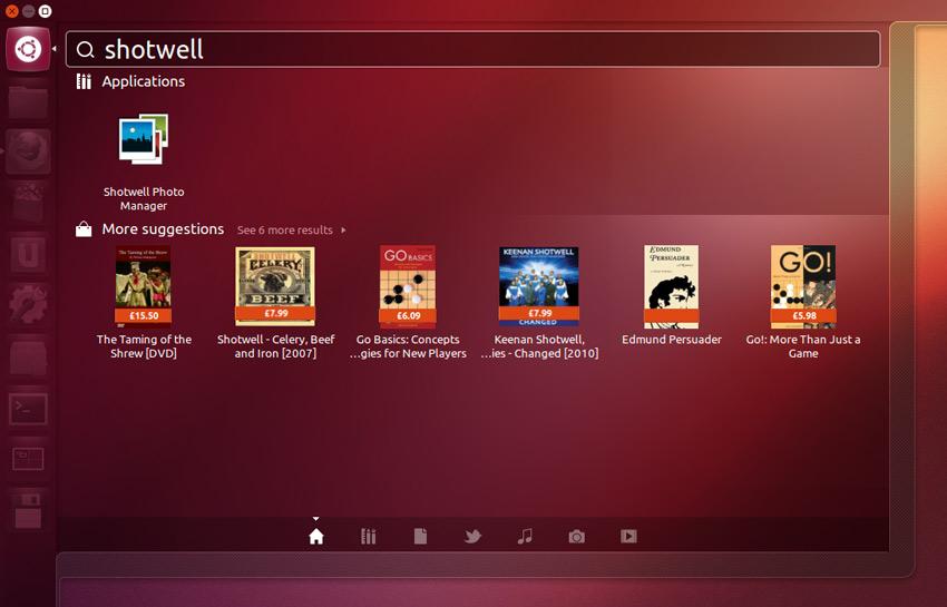В Ubuntu 12.10 встроят рекламу товаров из интернет-магазина Amazon