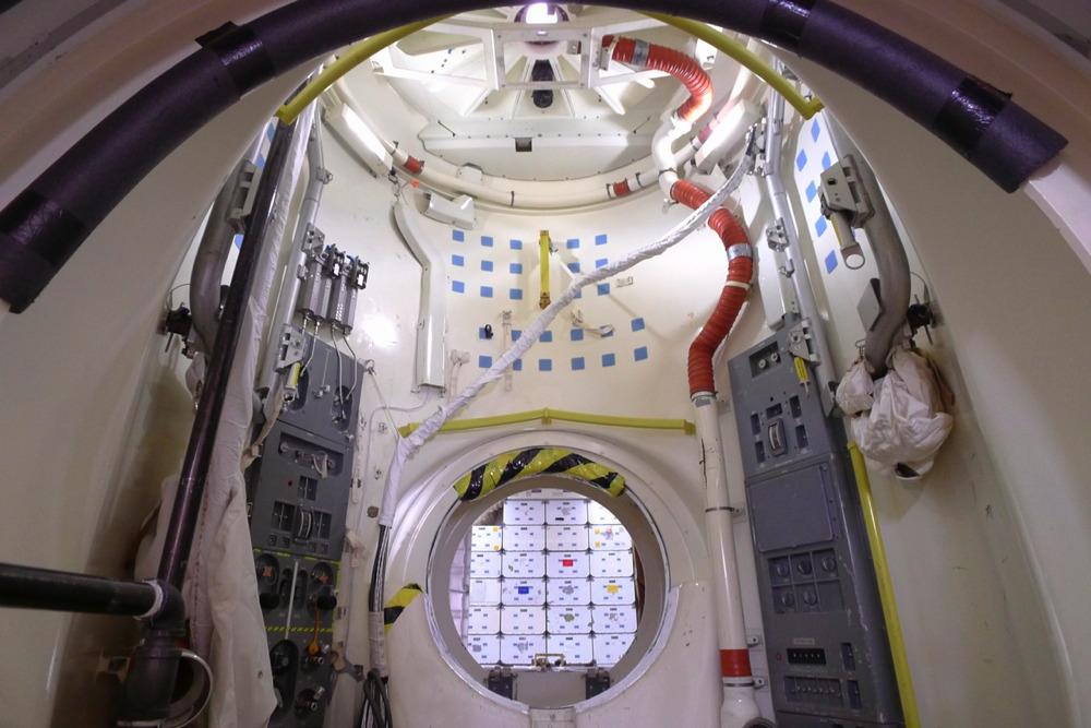 Наземный купол Shuttletrainer18