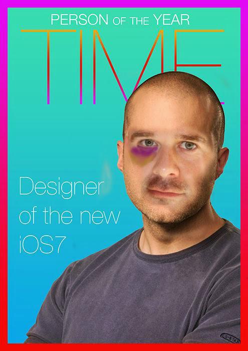 Благодарные пользователи - главному дизайнеру iOS 7. Автор, увы, неизвестен.