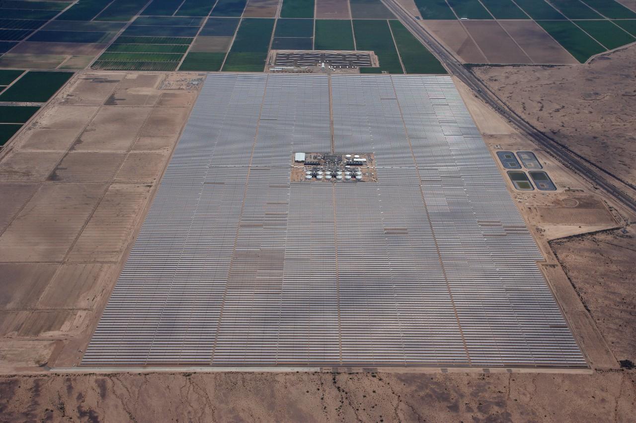 Солнечная электростанция Solana.
