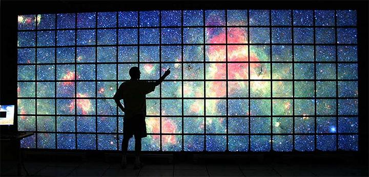 """Визуализация """"больших данных"""" в NASA JPL (фото: NASA/Ames/JPL-Caltech)"""