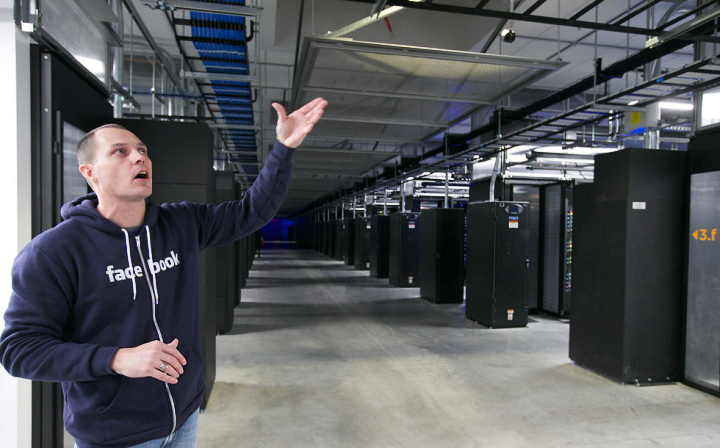 """Facebook - """"холодный"""" центр хранения данных (фото: Randy L. Rasmussen / The Oregonian)"""