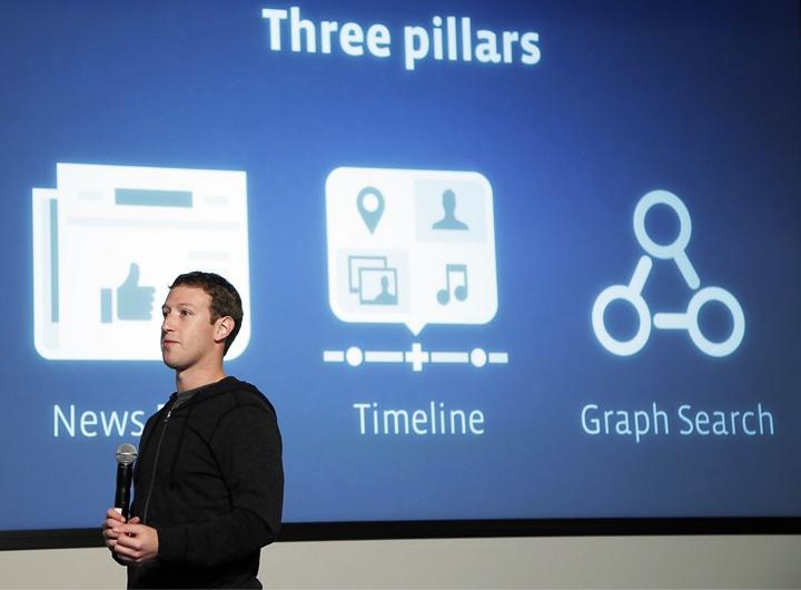 Graph Search - интеллектуальная поисковая система  Facebook (фото: mono-live.com)