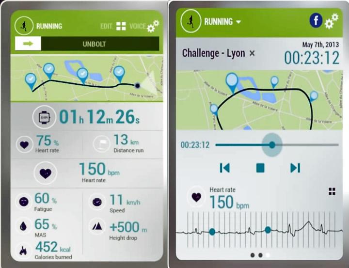 Спортивная одежда из ткани Smart Sensing покажет параметры тренировки и ваши результаты на экране смартфона или планшета (коллаж по материалам smartsensing.fr)