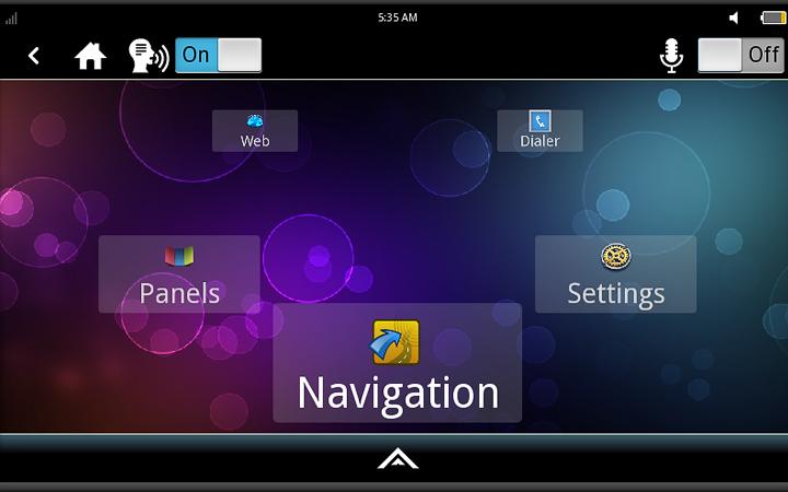 Интерфейс Tizen IVI (изображение: meego.com)