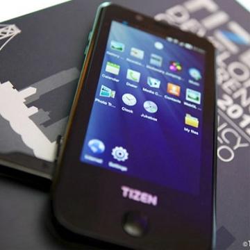 Смартфон Samsung с OC Tizen (фото: vcmedia.vn)