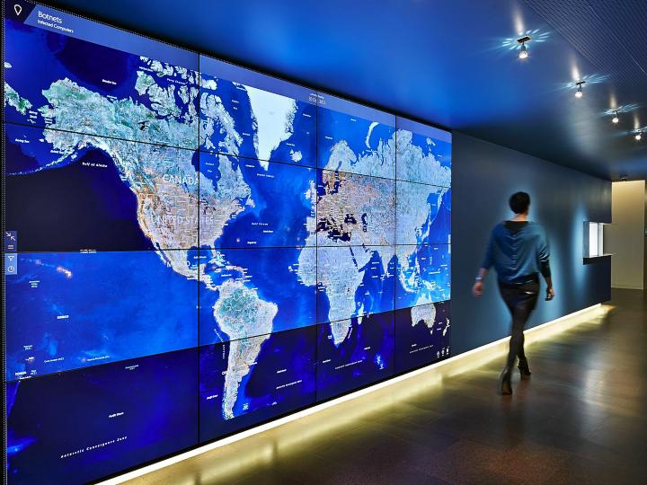 Карта активности ботнетов (фото: cioturk.com).