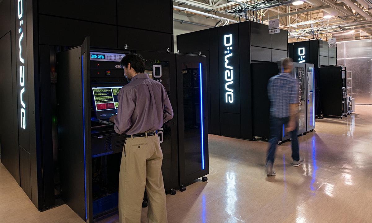 Квантовые компьютеры D-Wave откроют новые способы анализа данных