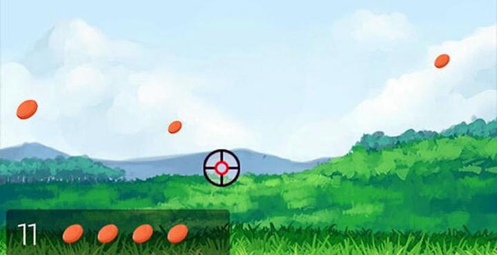 Приложение Glass Hunt: поражайте цели, как пилоты ВВС - наводясь на них взглядом (изображение: slashgear.com).