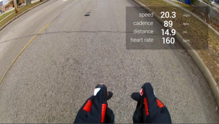 Google Glass не мешают управлению (фото: mattstevens.me).