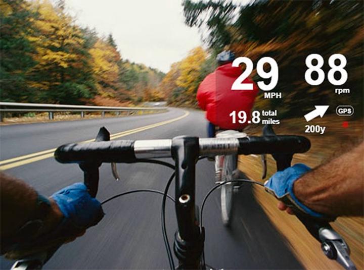 В приложениях для Google Glass доступны навигационные подсказки (фото: fankudo.com).