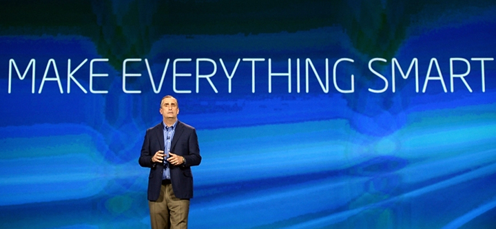 Генеральный директор Intel Брайан Кржанич (фото: descopera.ro)