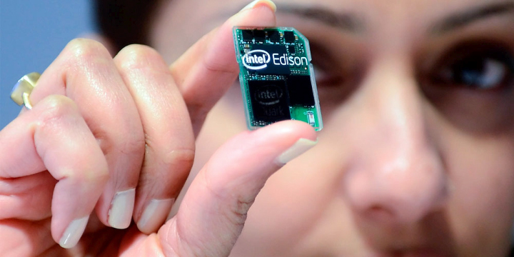 Самый маленький компьютер построен на SoC Inel Quark семейства X1000 (tecnologia.net).