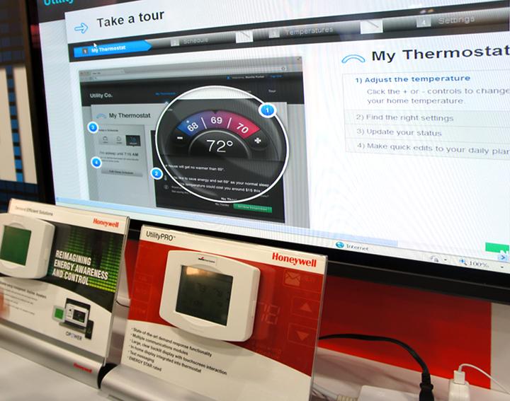 Демонстрационный стенд компании Opower (изображение: gigaom.com).