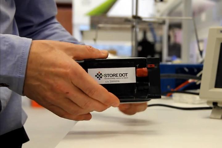Биоорганическая батарея StoreDot (фото: store-dot.com).