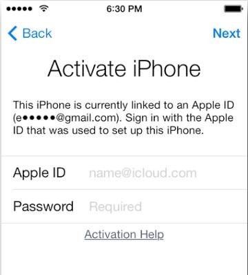 Блокировка iPhone (изображение: apple.com).