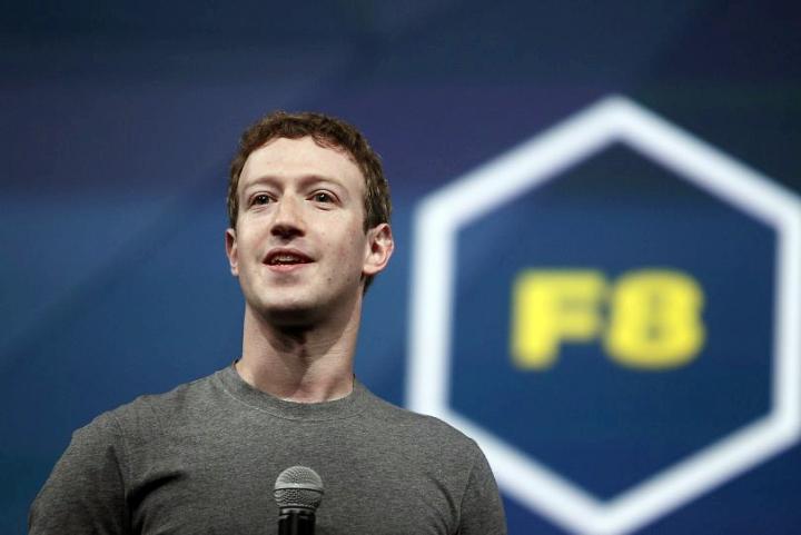 Марк Цукерберг на конференции F8 (фото: ctvnews.ca).