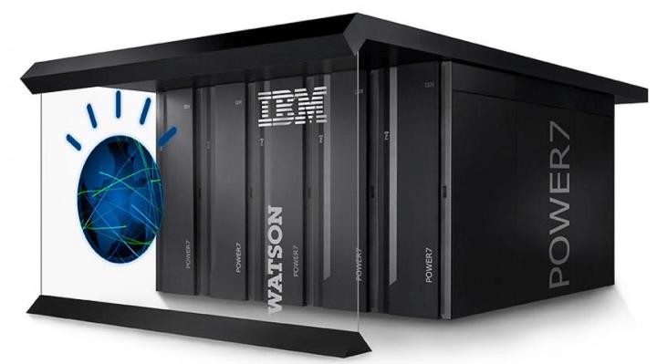 IBM Watson: пять секций по восемнадцать серверов Power 750 (изображение: itpro.co.uk).