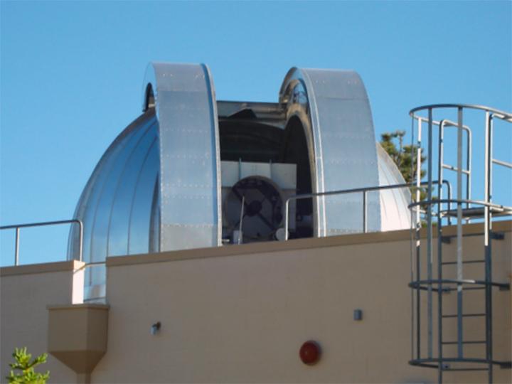 LLOT - одна из наземных установок для космической лазерной связи (фото: esc.gsfc.nasa.gov).