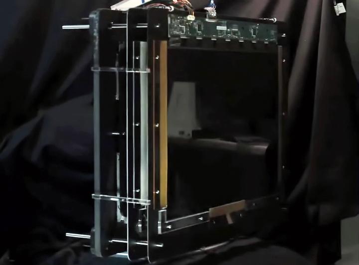 Прототип системы мультиперспективной 3D-визуализации (фото: MIT Media Lab).