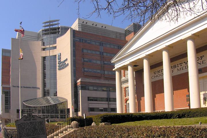 Медицинская школа Университета штата Мэриленд, служба безопасности которого существует формально