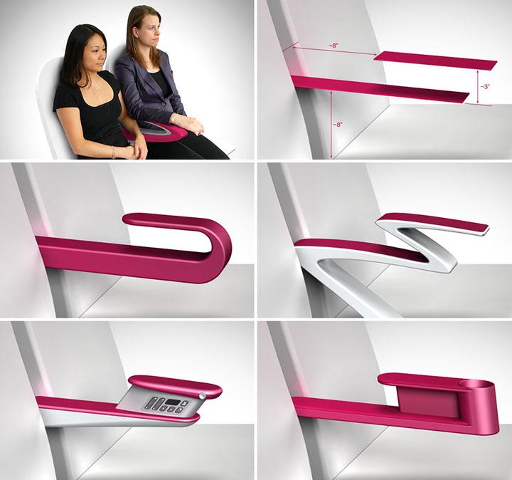 Повседневный дизайн: модификация интерьера в самолетах