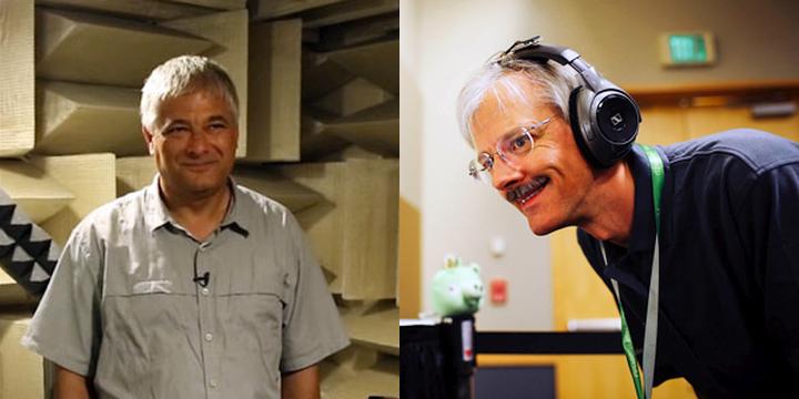 Иван Ташев (слева) и Дэвид Джонстон (по материалам: MIT / microsoft.com).