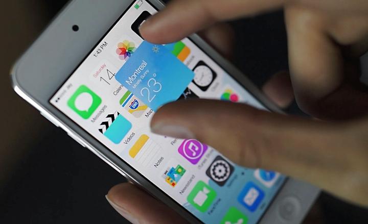 Виджеты сторонних программ в iOS 8 (фото: technobuffalo.com).