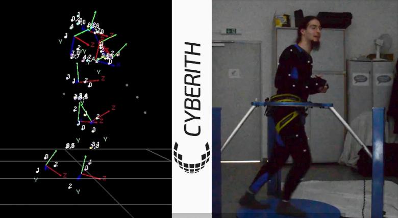 Отслеживание позы игрока в Cyberith Virtualizer (фото: сyberith.com).