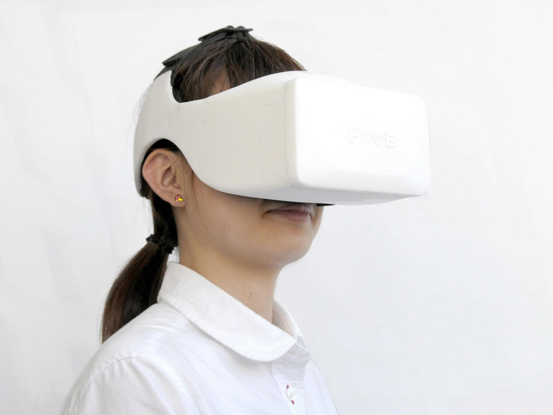 Fove - прототип шлема VR с технологией окулографии (фото: blogcdn.com).