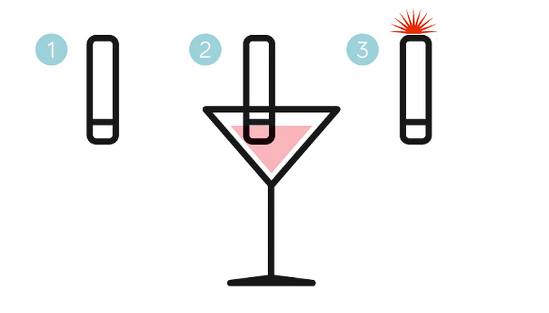 Персональный идентификатор отравленных напитков (изображение: indiegogo.com).