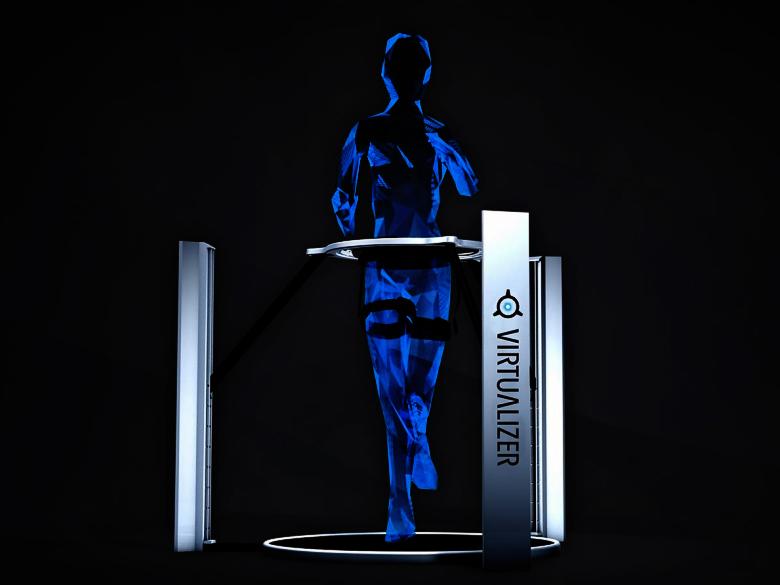 Cyberith Virtualizer - концепт установки для VR (фото: cyberith.com).