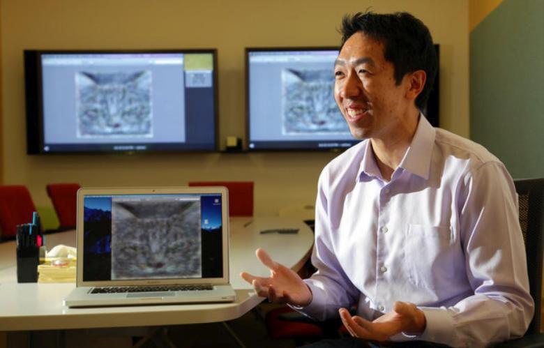 Эндрю Ын рассказывает о Google Brain (фото: pcforum.hu).