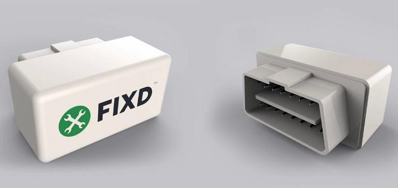 FIXD - диагностический модуль с прямым подключением к порту OBD-II (фото: fixdapp.com).
