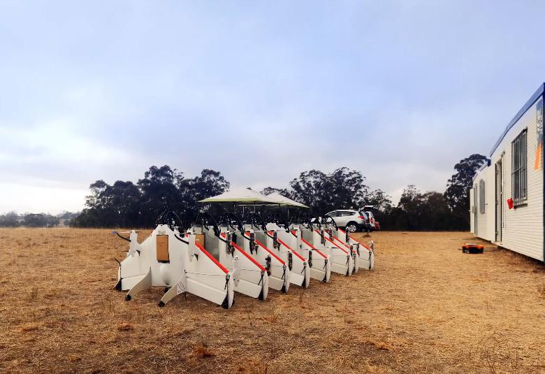 Прототипы дронов серии Google Wing (фото: Google).