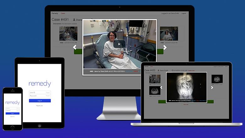 Приложение Beam для использования Google Glass в медицине (изображение: remedyonglass.com).