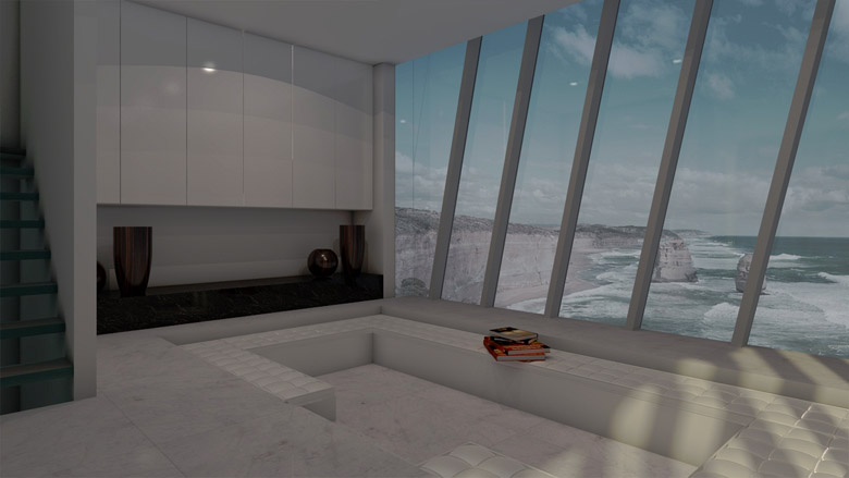 Архитектура: дом, как продолжение утеса