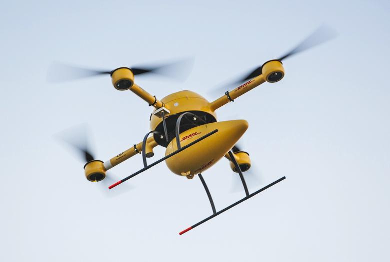DHL запускает доставку дронами товаров первой необходимости (фото: foxnews.com).