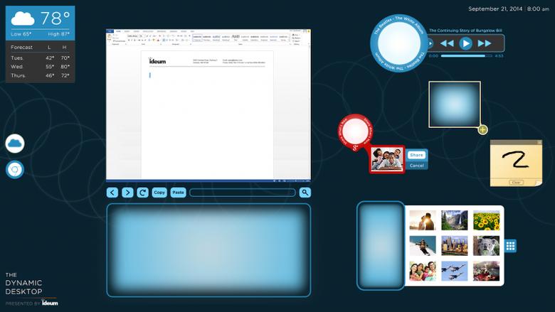 Интерфейс интерактивного стола Ideum (фото: фото: gearhungry.com).