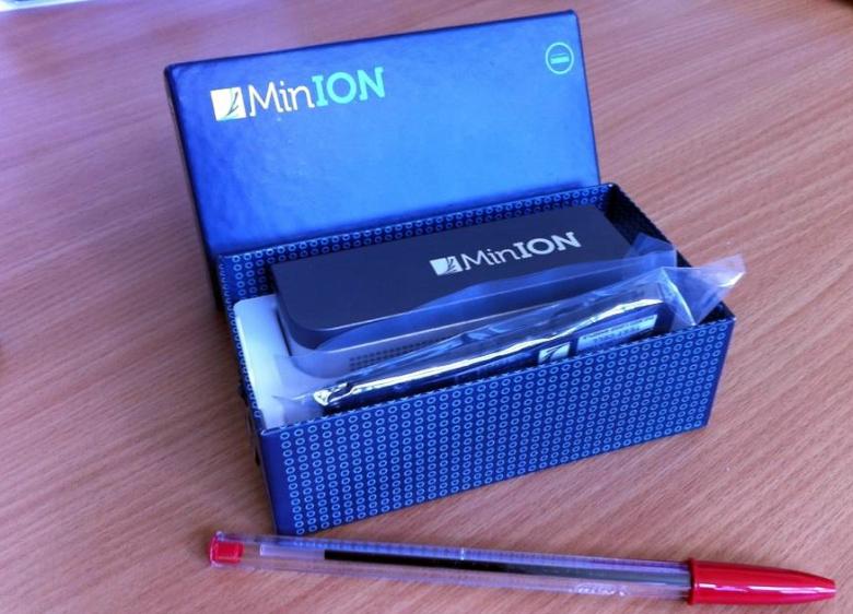 Прототип ДНК-анализатора MinION в Ланкастерском университете (фото: Nikki Copeland).