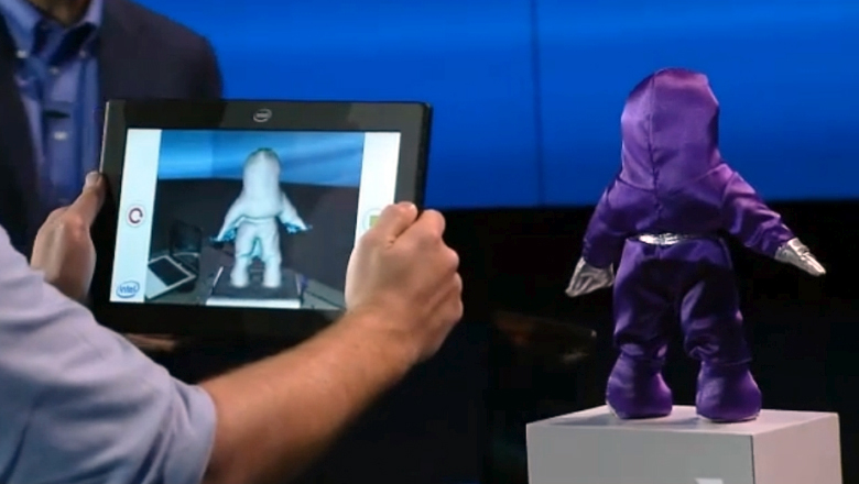 Создание 3D-модели с помощью Intel RealSense (фото: display-central.com).